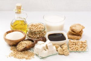 Produkte aus Soja